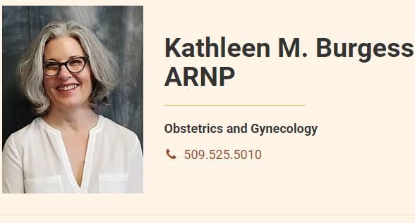 Kathleen M. Burgess, ARNP
