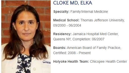 Cloke MD, Elka