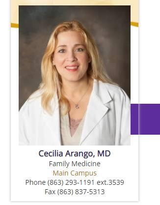Cecilia Arango, MD