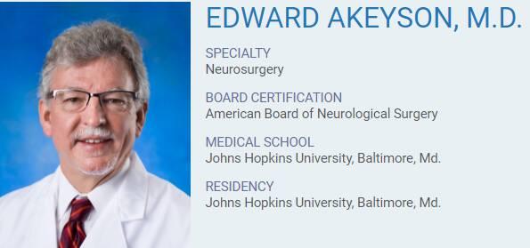 Edward Akeyson, M.D.