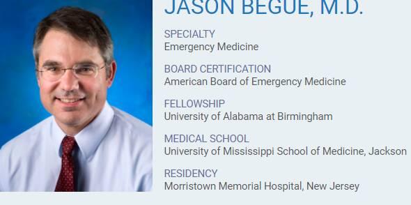 Jason Begue, M.D.