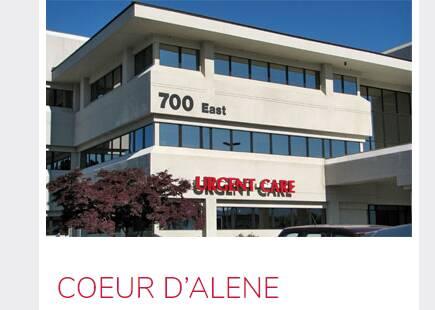 Kootenai urgent care Coeur D' Alene