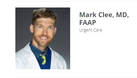 Mark Clee, MD, FAAP
