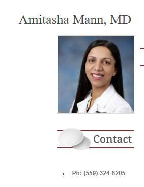 Amitasha Mann, MD