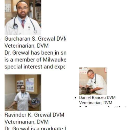 West Allis Vet Clinic Doctors