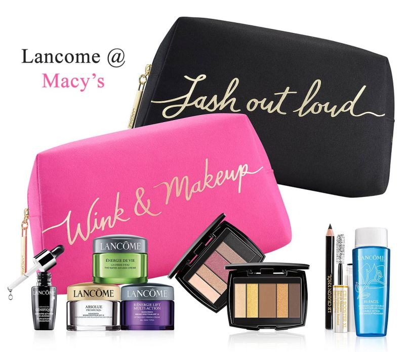 Herbergers Lancome Gift With Purchase 2017 Ziesite
