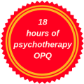 recognized for 18 hours of continuing education in psychotherapy by the Ordre des psychologues du Québec