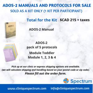 ADOS-2 Maunauls and Protocols for Sale