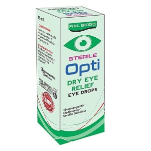Paul Brooks Opti Dry Eye Relief Drops