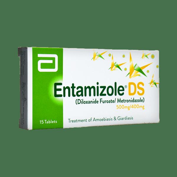 Entamizole DS Tab