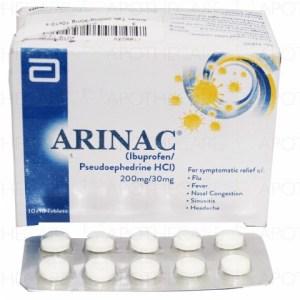 Arinac Tab