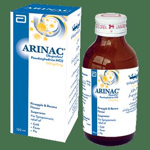 Arinac susp