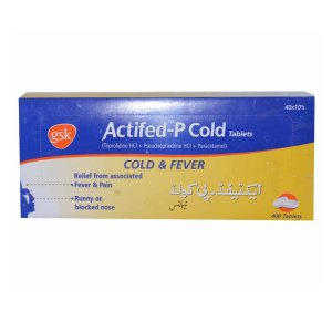 Actifed-P Cold Tablet