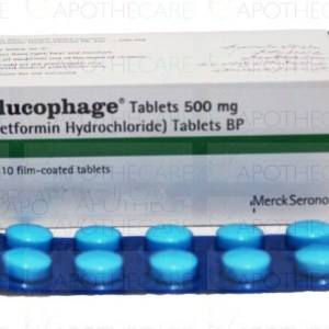 Glucophage Tablets 500mg