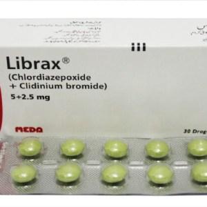 Librax Dragees 2.5mg/5mg