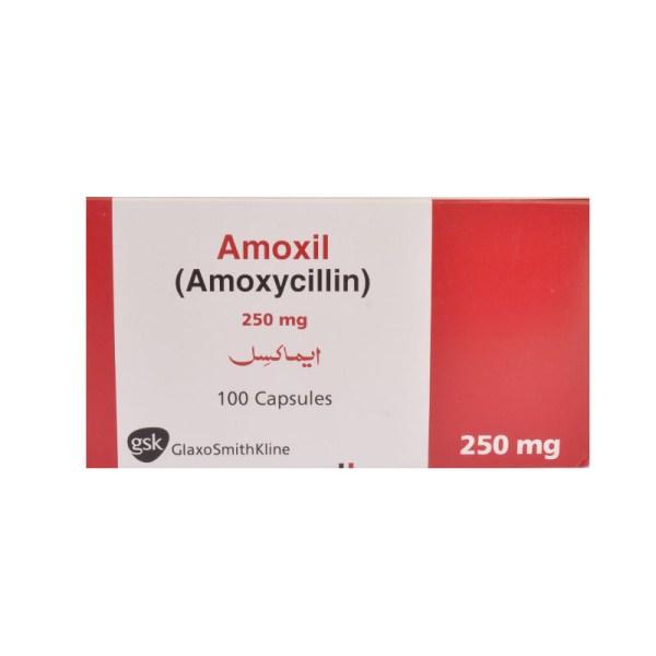Amoxil Capsules 250mg