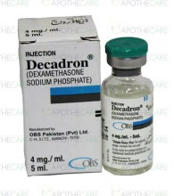 Decadron injection