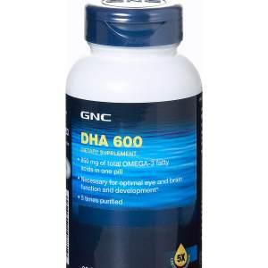 GNC DHA 600