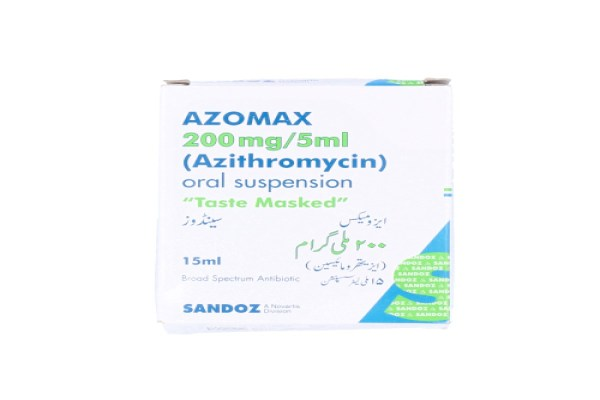 Azomax Suspension 200mg/5ml