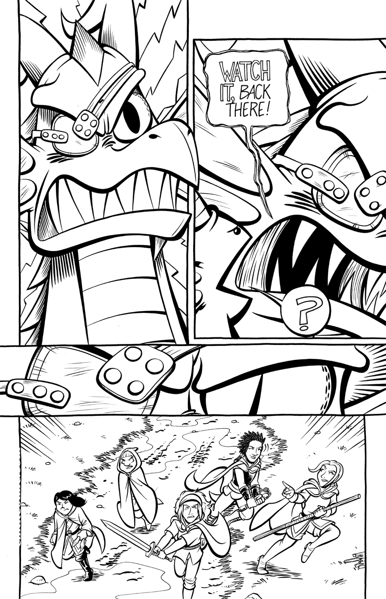 Divide and Conquer #2, Page 6