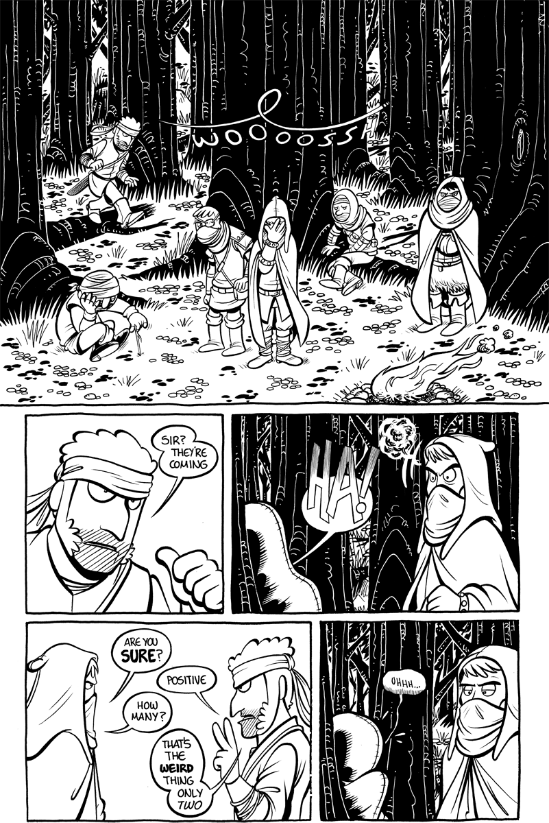 Divide and Conquer #3, Page 10
