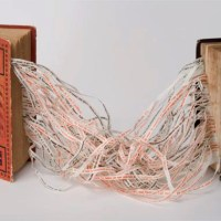 'The 100' #32 - Altered Books, Part 3 - Sculpted Text and Found Objects