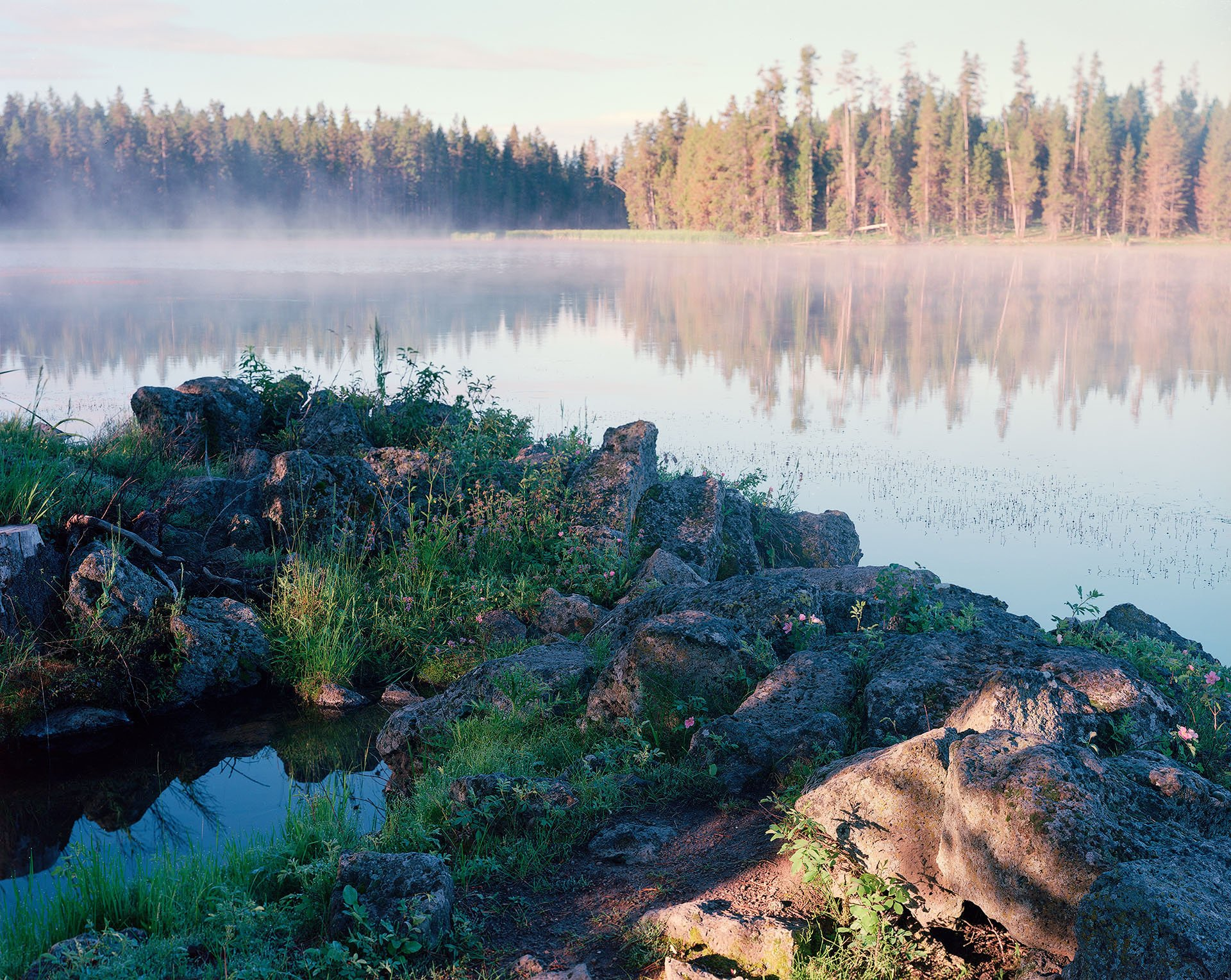 Large Format Film Landscape Photography Journey in Idaho