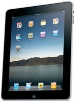 The first Apple iPad was released in January, 2010. (Credit: public domain)