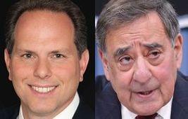 Jeremy Bash (left) Leon Panetta (right) (Credits: public domain)