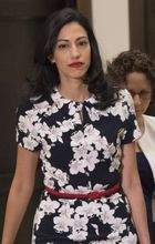 Huma Abedin arrives to testify at a hearing before the House Benghazi Committee on Oct. 16, 2015. (Credit: Saul Loee / Agence France Presse / Getty Images)