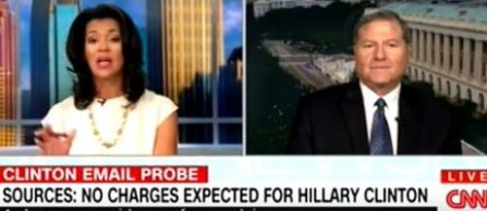 Photo of former FBI director Tom Fuentes appearing on CNN with Fredricka Whitfield on July 3, 2016. (Credit: CNN)