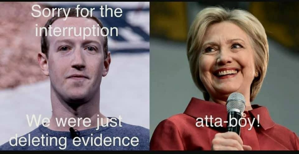 Facebook Down Pulling A Hillary?