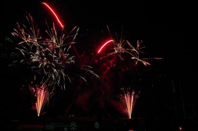 Bicentennial Firework Display, Friday, August 5, 2016