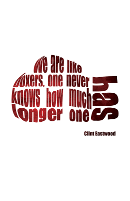 Eastwood Type Poster