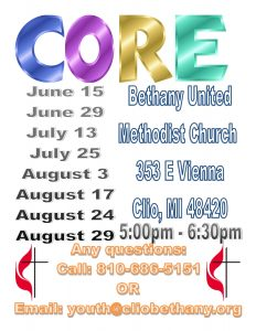 Summer CORE Flyer