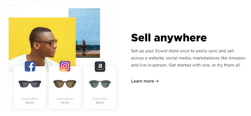 sell anywhere you want even in Amazon, eBay