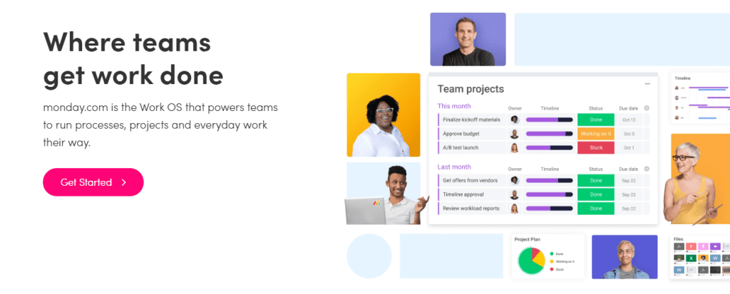 Monday.com has powerful project management tools to collaborate your project task