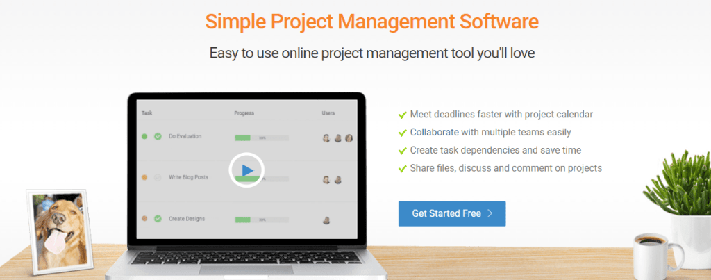 simple and powerful project management tools for your team