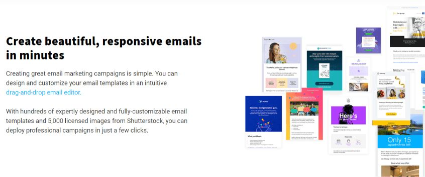 create beautiful and responsive emails in minutes