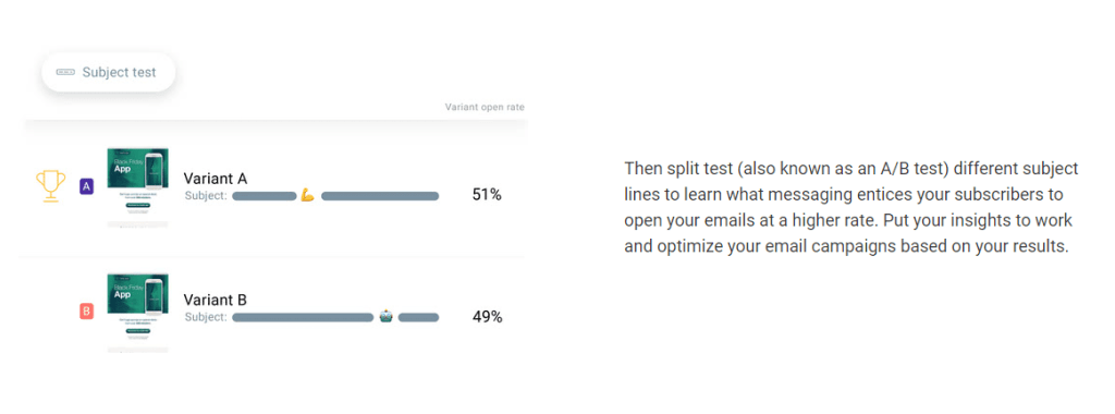 Experiment with A/B testing to get effective email marketing result
