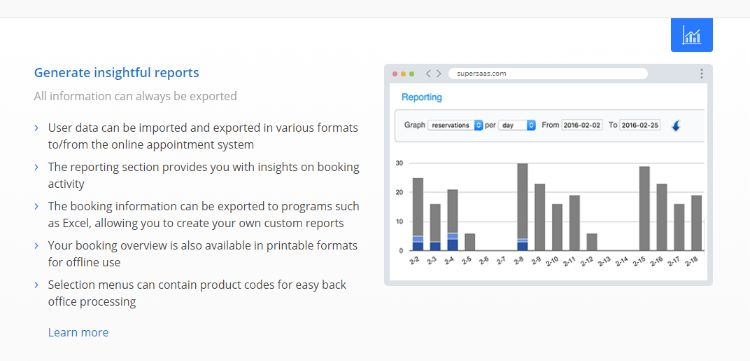 Real-time Analytics Report at your fingertips