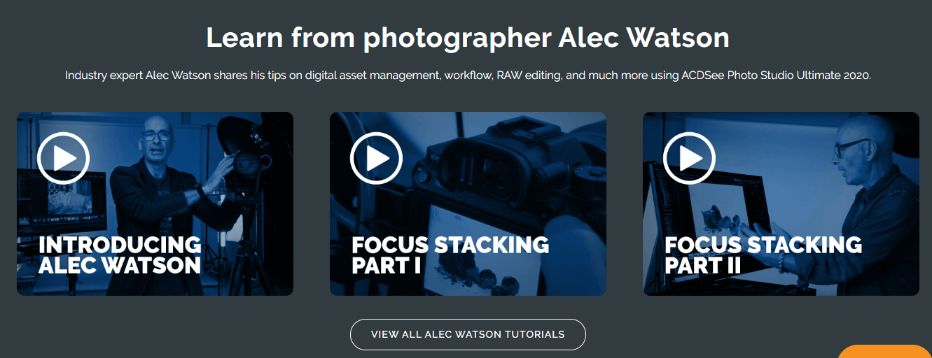 Learn from Industry Expert Photographer Alec Watson