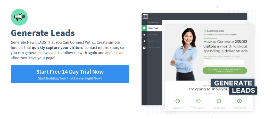 Generate Leads with Simple but Stunningly Beautiful Lead Page
