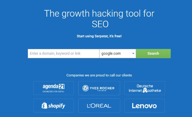 Serpstat Advance SEO Tools with Free User Option