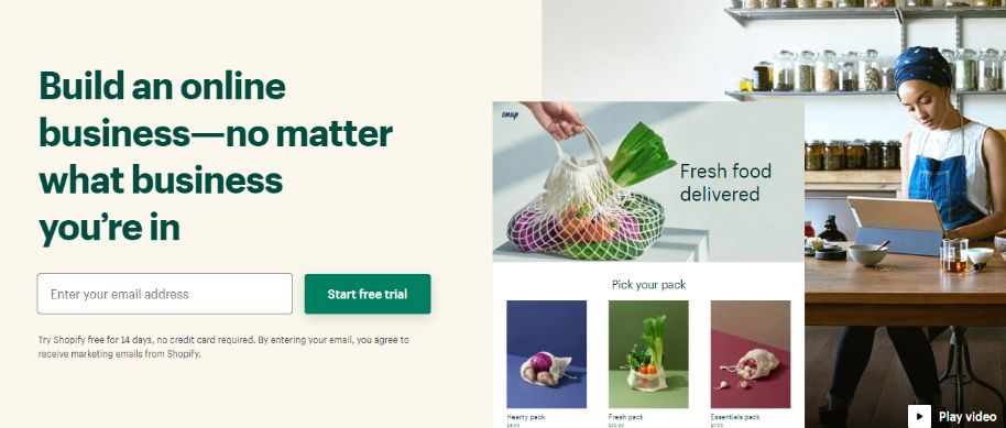 Powerful Ecommerce Solution – Free 14-days Trial Run