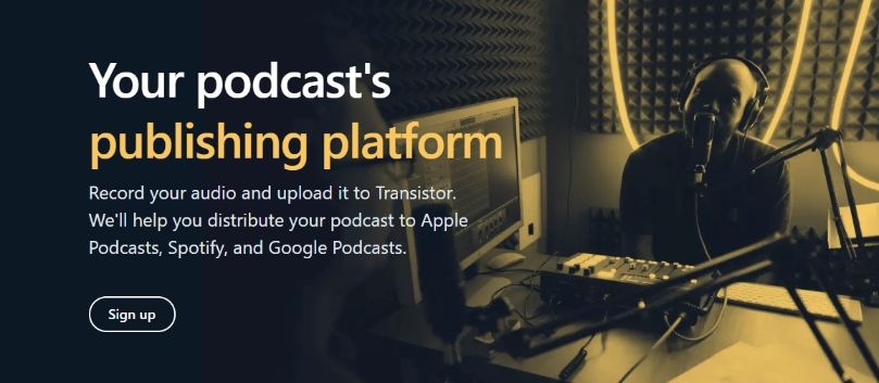 Create Unlimited Podcast with Built-in Website
