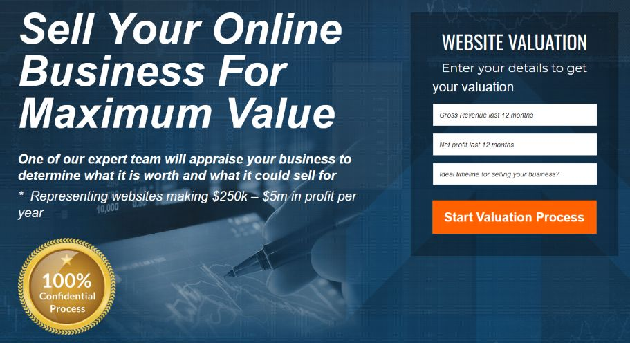 Business analysis experts will evaluate your online business to get the best value