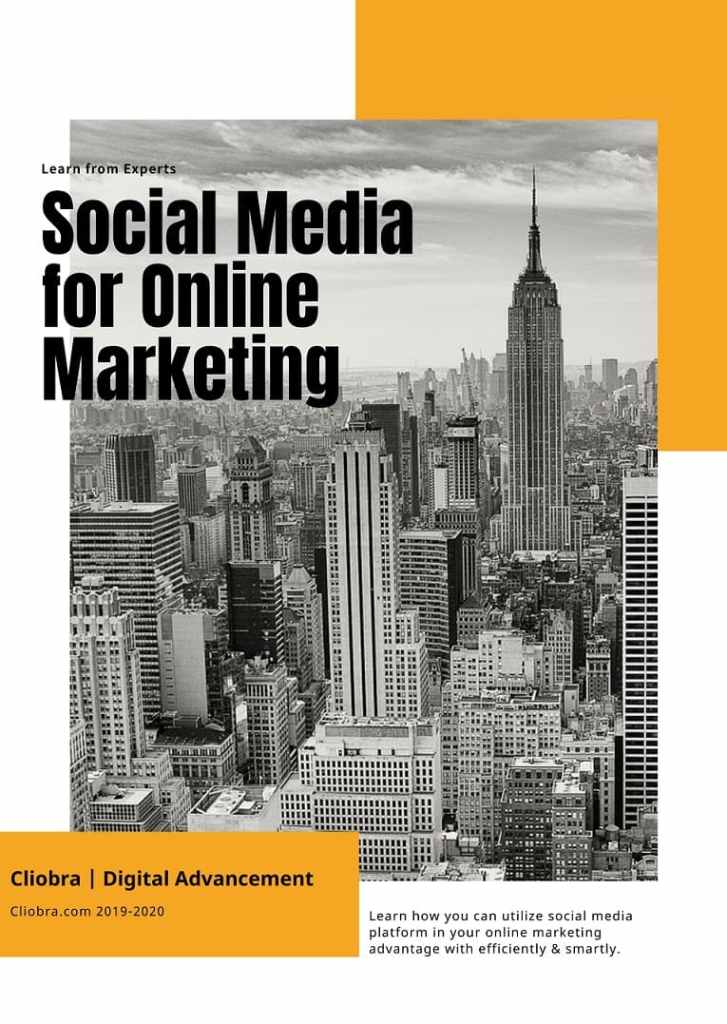 What are the best 6 types of social media for online marketing