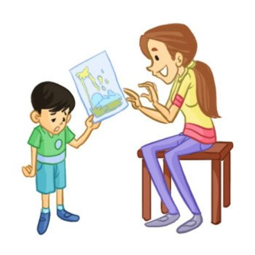 encourage your child with possible feedback always