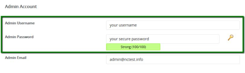 when selecting a username & password for your WordPress site, try to make a complex combination with upper & lower case, numbers & symbols